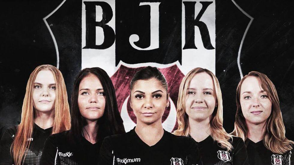 Beşiktaş JK, Türkiyenin İlk Kadın CS GO Takımını Kurdu