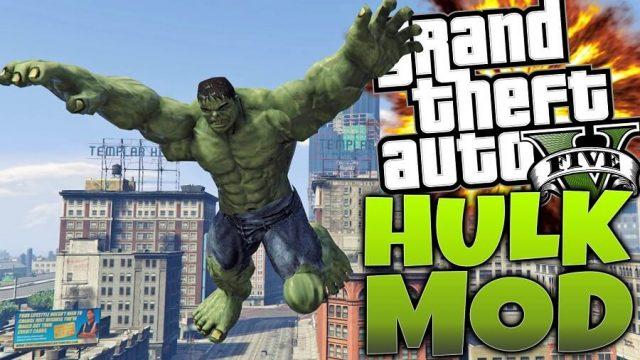 GTA 5 İçin Yeni Hulk Modu