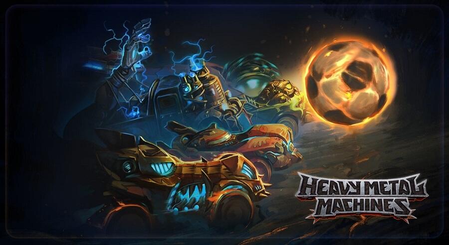Rekabet Alanı Heavy Metal Machines